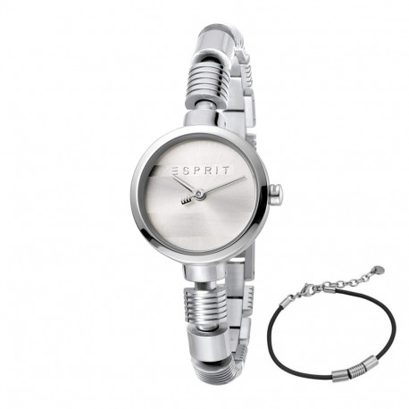 6641bf11660 Esprit ES1L017M0015 Shay Silver Ladies Watch