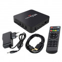 Savio TVBOX-02 Multimēdijas TV Ierīce Android 7.1 / 4K / Wi-Fi / 1GB / 8GB / 4 x 1.2 Ghz / H.264 / H