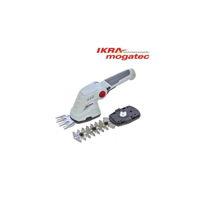 Akumulaatoriga murukäärid ja hekikäärid 3,6V Ikra Mogatec IGBS 3.6 USB