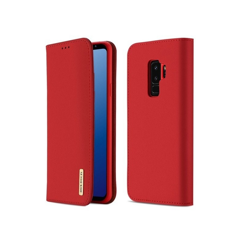 new styles 8d350 eb57b Dux Ducis case Wish Magnet The Real Leather Apple iPhone 7 Plus/8 Plus, red