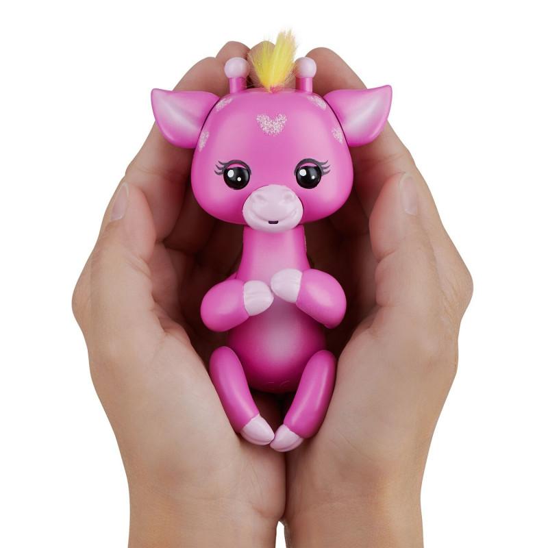 FINGERLINGS elektrooniline mänguasi beebikaelkirjak Meadow, roosa, 3555