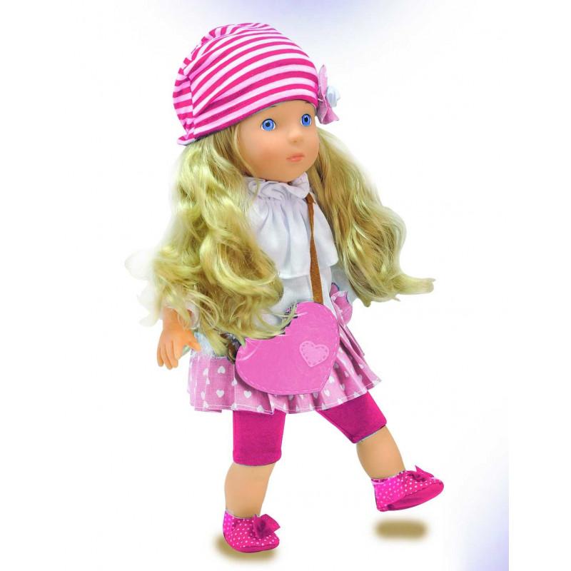 BAMBOLINA nukk Miss Anna roosas kleidis 50 sõna Eesti versioon, BD1363PINK-EE