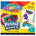 COLORINO CREATIVE Külmkapi magnetid erinevad kujundid 12 tk, 91411PTR