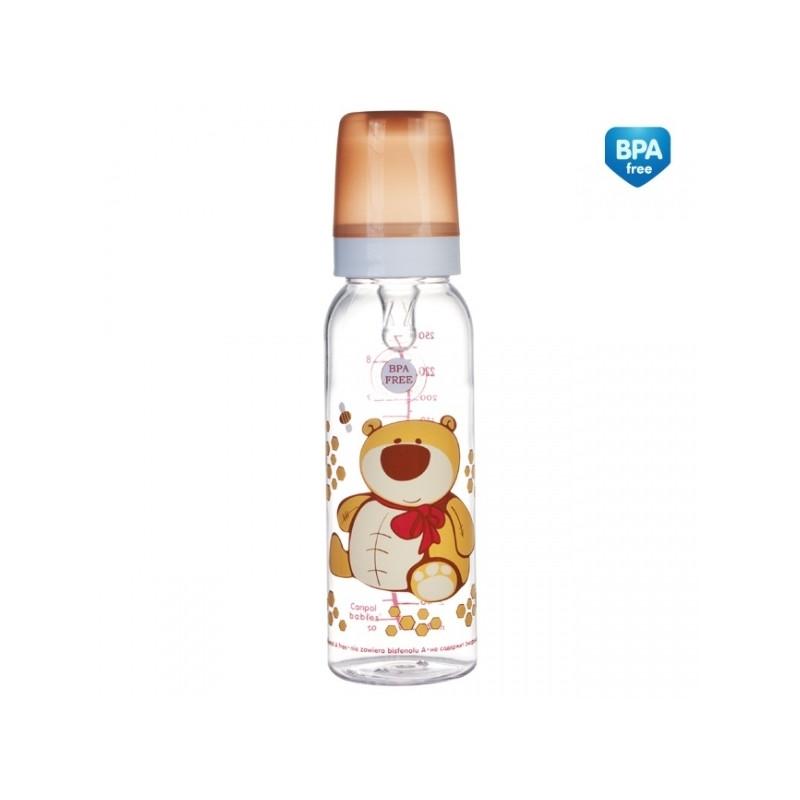 CANPOL BABIES bottle Cheerful animals 250ml 12m+, 11/841prz