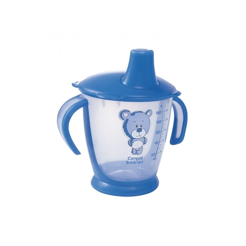CANPOL BABIES non spill cup Teddy Friend 31/500