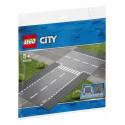 60236 LEGO® City Taisns ceļš un T veida krustojums