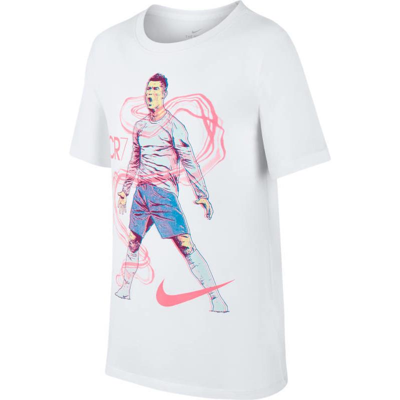 brand new 8703f d1c0c T-särk Nike RONALDO BOYS DRY TEE HERO valge