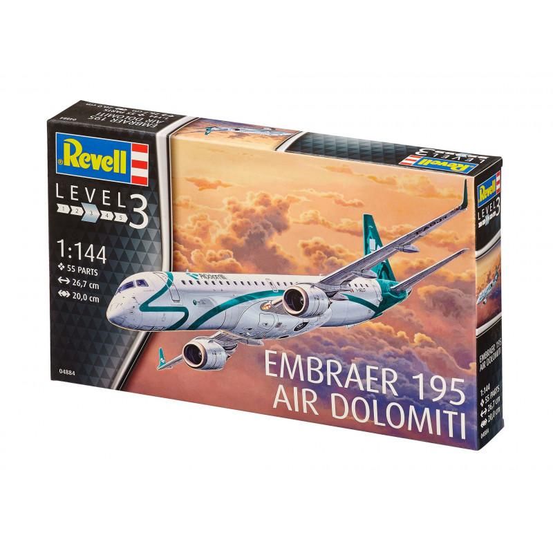 revell-mudelikomplekt-embraer-195-air-do