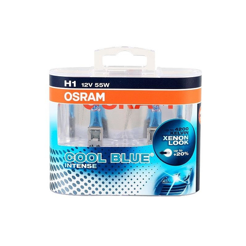 OSRAM Autolambid Cool Blue Intense 12V H1 55W P14.5S
