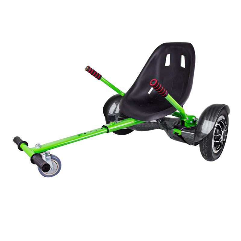 """Windrunner Fun A1 Art 10"""" Carbon + Funcart green"""