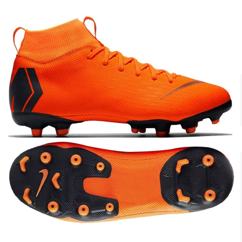 sneakers for cheap 8a116 6fdb4 Kids football shoes Nike Mercurial Superfly 6 Academy GS MG Jr AH7337-810