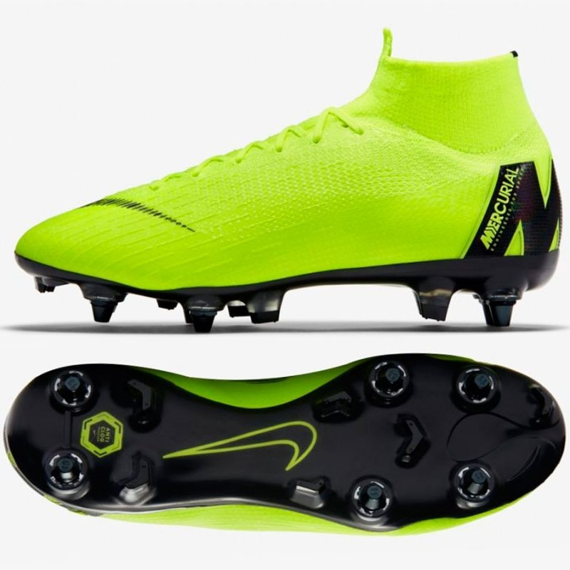 size 40 f0508 bf2cb Men's grass football shoes Nike Mercurial Superfly 6 Elite SG-Pro M  AH7366-701