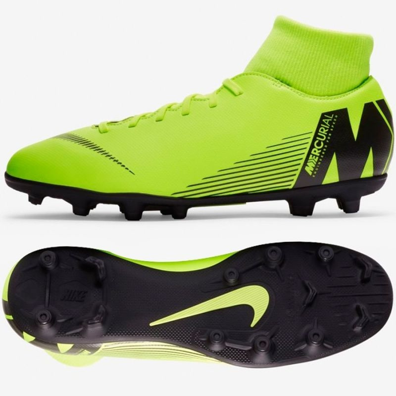 05f6c29ca Mens grass football shoes Nike Mercurial Superfly 6 Club MG M AH7363-701 -  Training shoes - Photopoint