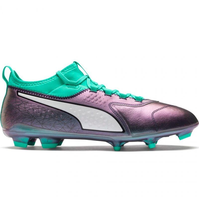 a002ef4af595 Mens grass football shoes Puma ONE 3 IL Lth FG Color Shift-Bi M 104928 01 -  Training shoes - Photopoint