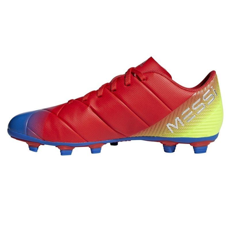 9f613b65b Men s grass football shoes adidas Nemeziz Messi 18.4 FxG M D97273 ...