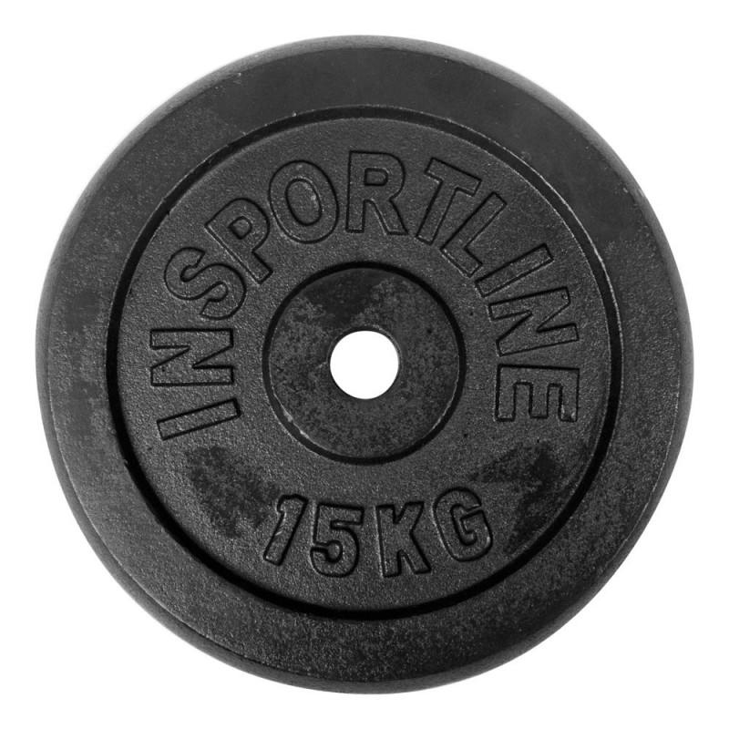 15kg Steel Weight Plate inSPORTline