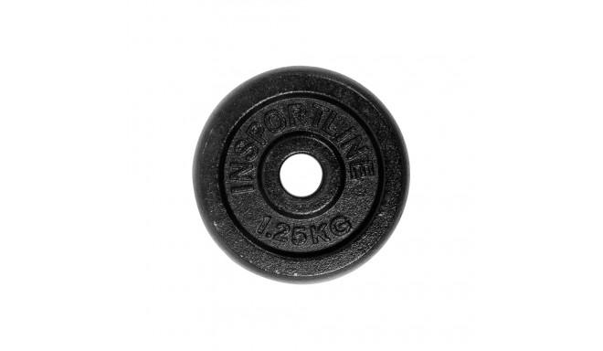1,25kg Steel Weight Plate inSPORTline