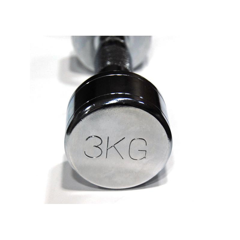 3 kg Kroomist hantel inSPORTline