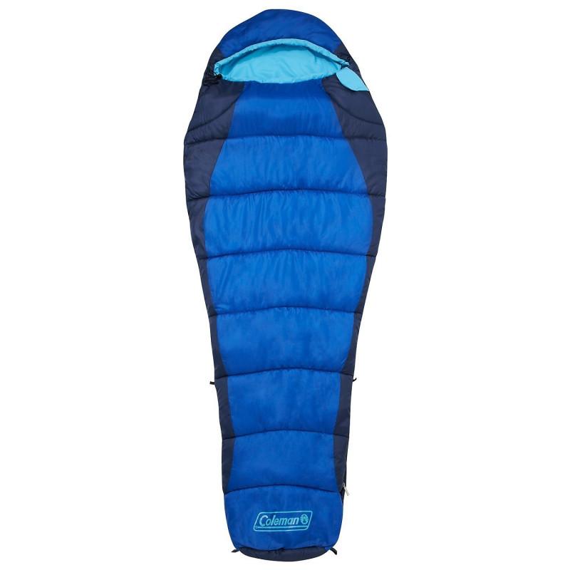 Coleman Mummy sleeping bag FISION 100 - blue