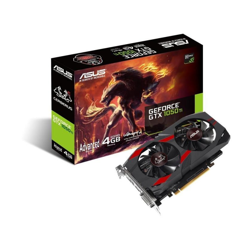 Asus graphics card GeForce GTX 1050 Ti Cerberus AG 4GB