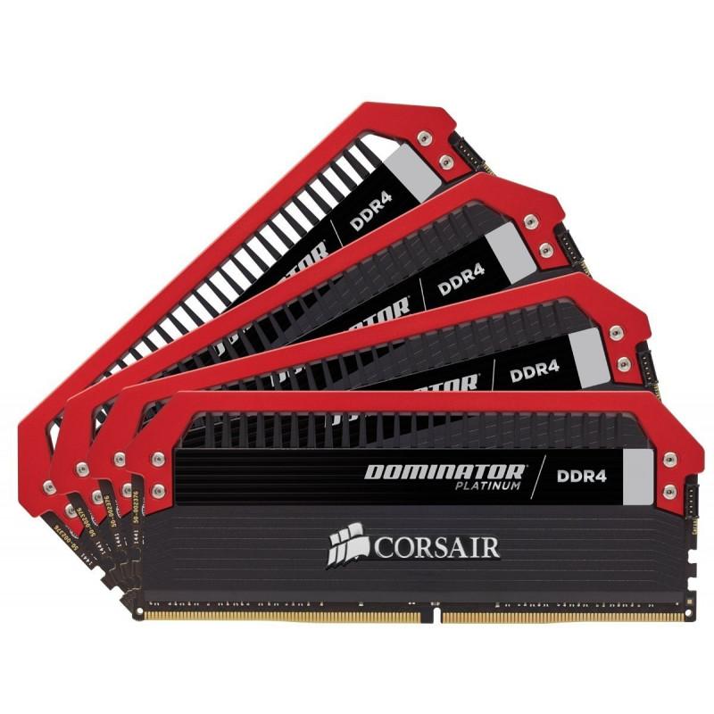 Corsair RAM Dominator Platinum DIMM - ROG Edition Kit 32GB, DDR4-3200,  CL16-18-18-36 (CMD16GX4M4B3200C16