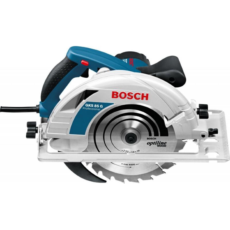 Bosch Circular Saw  GKS 85 G blue - FSN 1600
