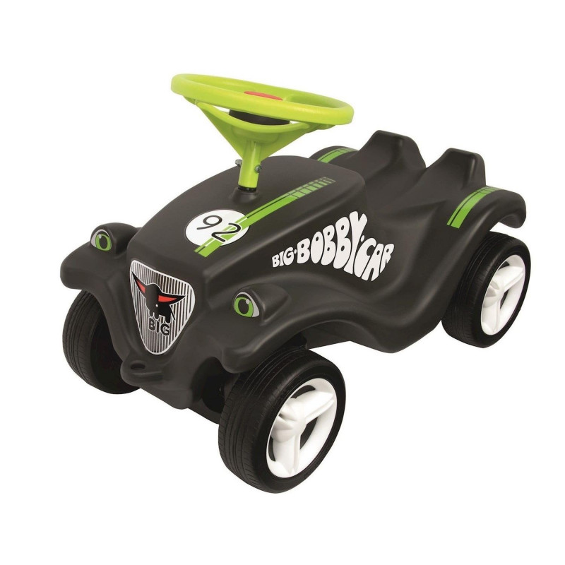 BIG Bobby-Car-Classic Racer - black/green
