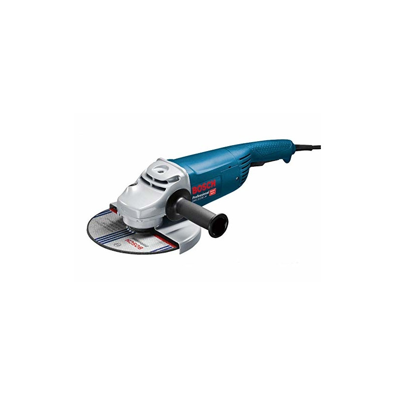 Bosch angle grinder GWS 22-230 JH Professional(blue, 2,200 watts)