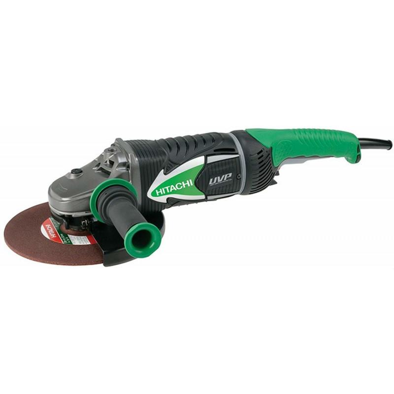 Hitachi angle grinder G23UDY + + concrete suction hood slide cup wheel (green / black, 2,600 watts)