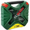 Bosch tool set X-Line 54 parts