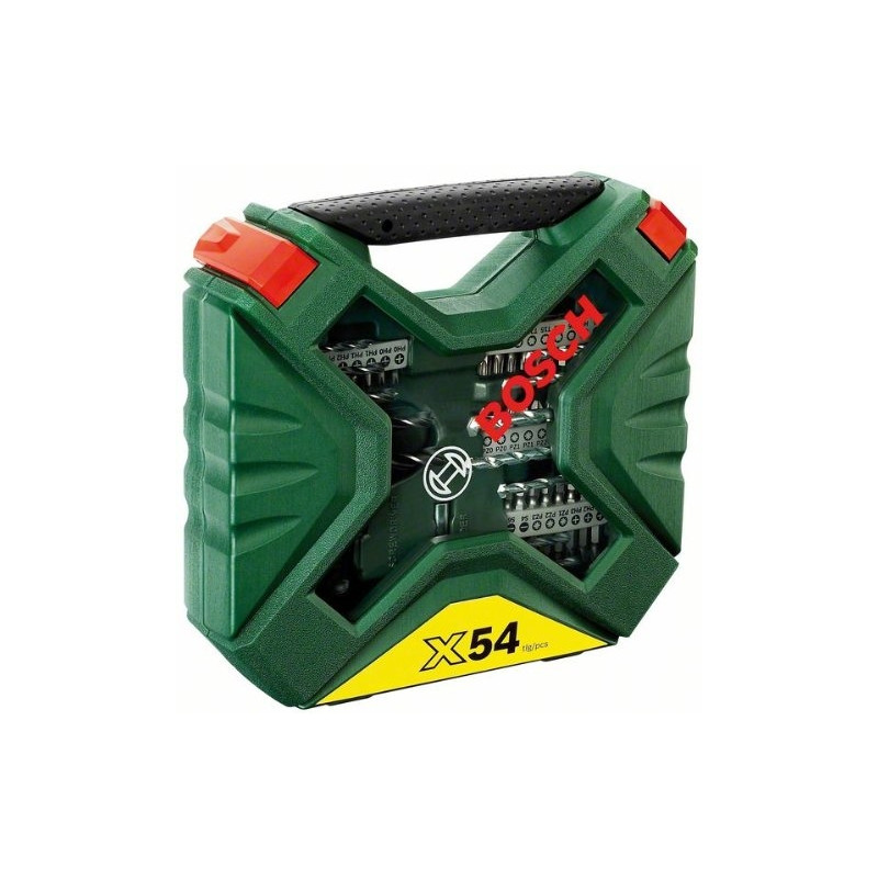 Bosch tööriistakomplekt X-Line 54-osaline