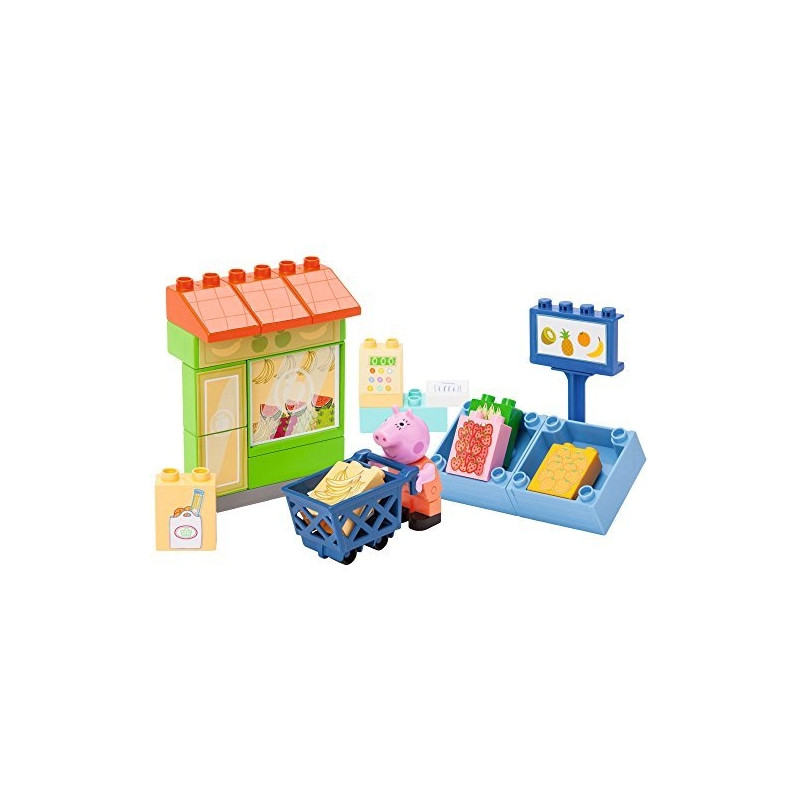 BIG PlayBIG Bloxx Peppa Pig Fruit Shop - 800057110
