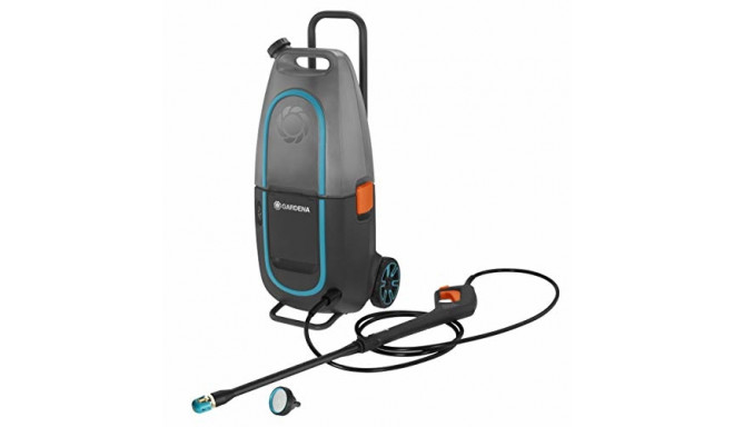 GARDENA high-pressure cleaner Aqua Clean Li-40/60 40 Volt (gray / turquoise, without battery and cha