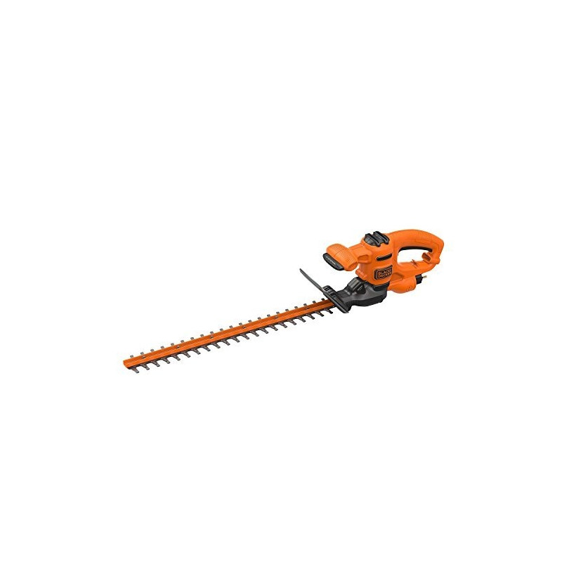Black+Decker hedge trimmer BEHT251-QS 450W - 50 cm sword length, 18 mm cutting thickness