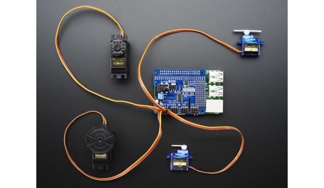 Adafruit 16-kanaliga 12-bit PWM / Servo draiver Raspberry Pi´le