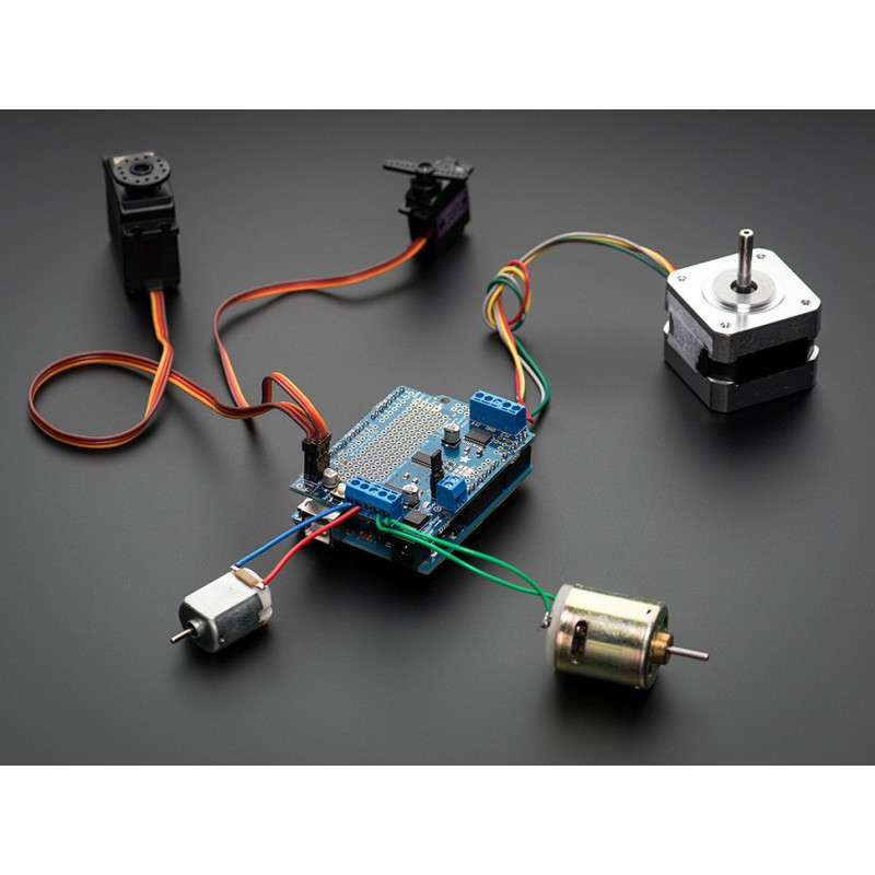 Adafruit Motor/Stepper/Servo laiendusplaat Arduino´le