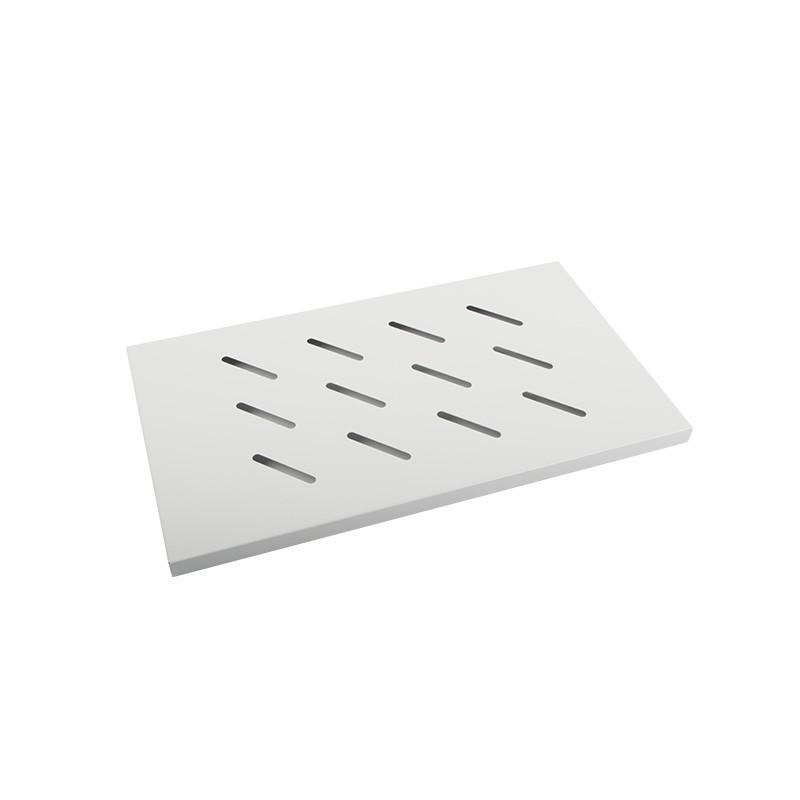 19'' Fixed Rack Shelf 1U 500x280mm grey