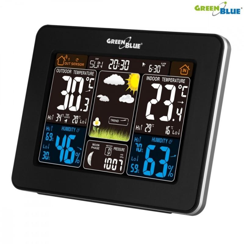 GreenBlue digitaalne ilmajaam DCF GB523