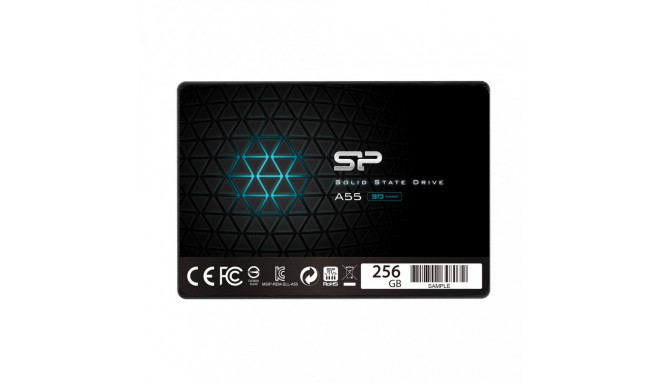 Silicon Power SSD A55 256GB SATA 3 520/530MB/s