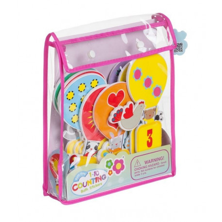 378c093fc15 Stickers for bathing - numbers