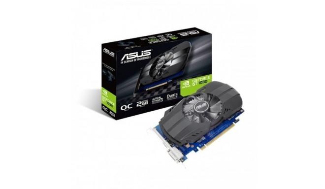 Asus graphics card GeForce GT 1030 OC 2GB GDDR5 64bit