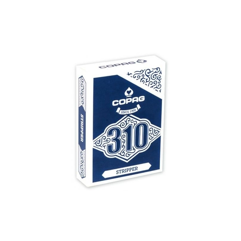 Cards Copag 310 STRIPPER/TAPERED