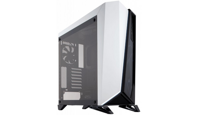 %CARBIDE SERIES SPEC-OMEGA ATX Mid-Tower; WHITE-BLACK