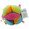 Ball with rattle Colorful 11 cm