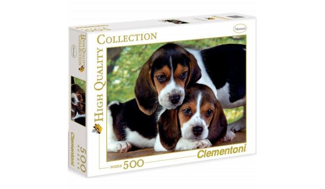 Clementoni pusle Koerad 500tk