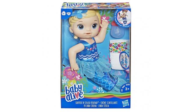 Baby Alive Doll Shimmering Mermaid Blonde