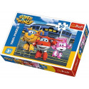 30 elements, Friends in front of the hangar - Super Wings