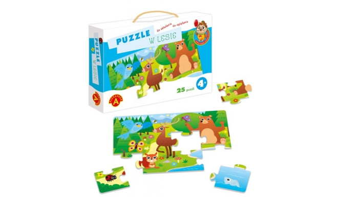 ALEXANDER Puzzle in the forest Owl Clever Head
