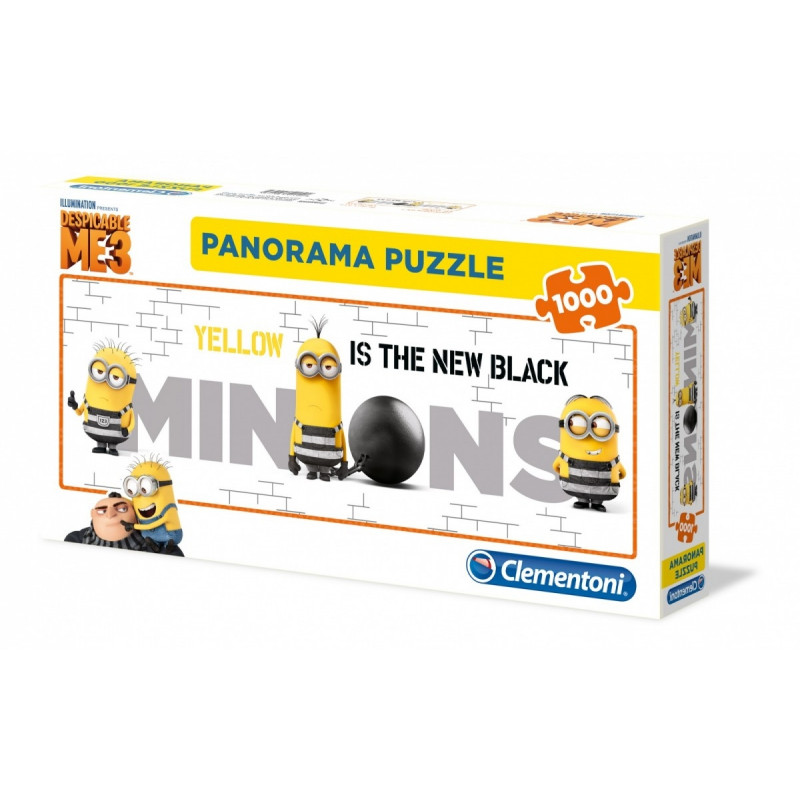 1000 elements Panorama High Quality Minions