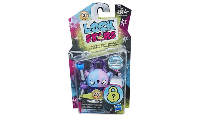 Figure Lock Stars Pink and Blue Monster